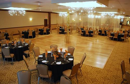 Our Golden Belle Ballroom