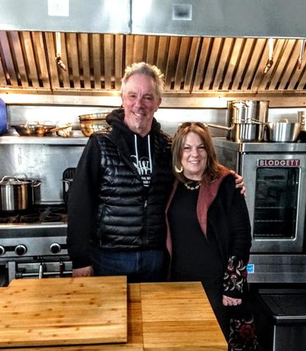 Tami with Paul Cullen ~ proud member on Connect