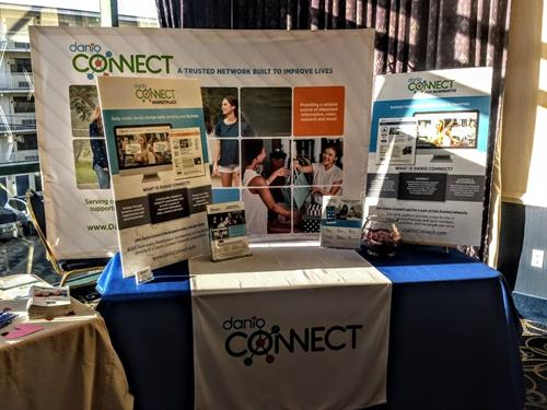 Our display at the Beebe Healthcare Fair