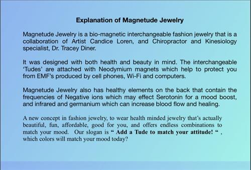 explination of magnetude jewelry