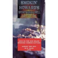Smokin' Howard's Sports Bar & Grill Ribbon Cutting