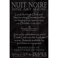 Whiskey & Wiles Nuit Noire  Fine Art Show