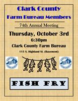 Clark County Farm Bureau Members 74th Annual Meeting