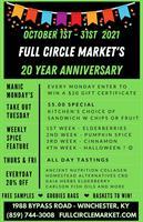 Full Circle Market 20 Year Anniversary