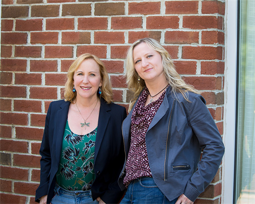 Ellen Feldman Ornato and Jenny Drescher, Founding Partners