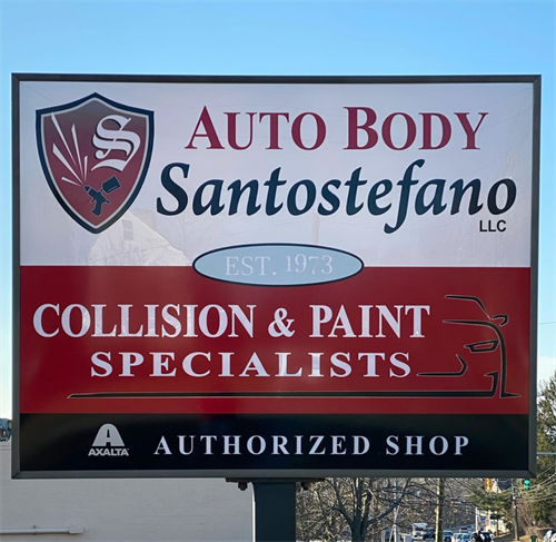 Our Sign Located on Saybrook Road