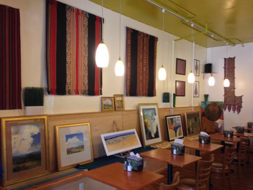 Art Show at Brew Bakers Cafe.