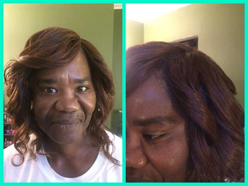 Full Sew In with Invisible Part