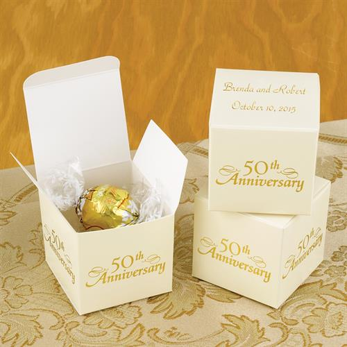Anniversary Favor Boxes (Party/Event Decoration)