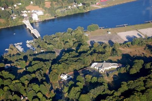 Aerial View of The Riverhouse
