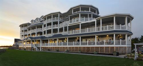 Madison Beach Hotel overlooking the Long Island Sound