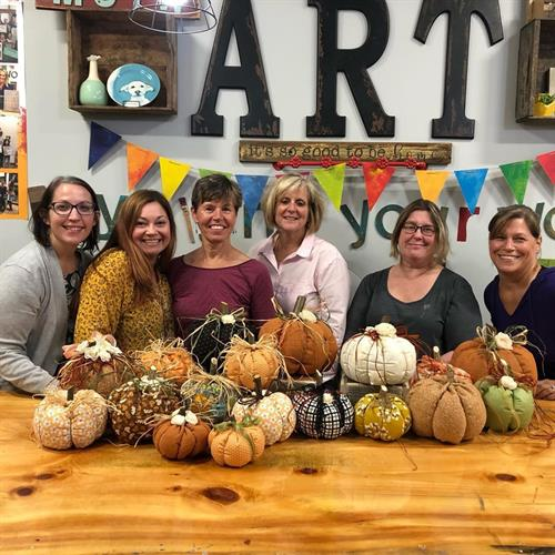 Fabric Pumpkin Workshop