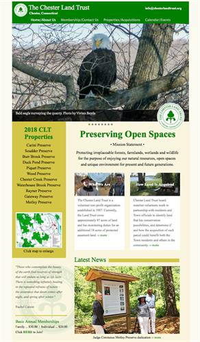 Website for Chester Land Trust
