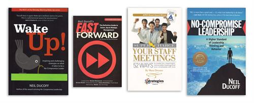 Four books for Strategies: an education, training & coaching company