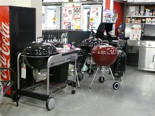 We sell Weber Grills and we are the areas only Authorized Service Dealer