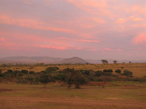 South Africa Swaziland sunrise
