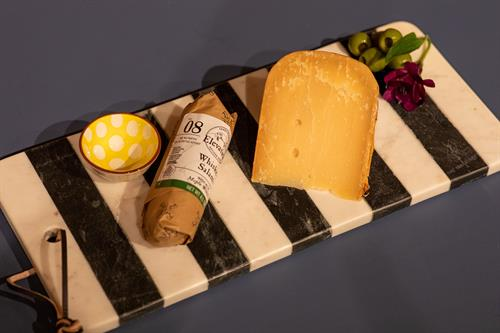Customized platters and gift baskets are available