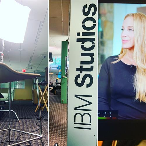 Shoot day at IBM