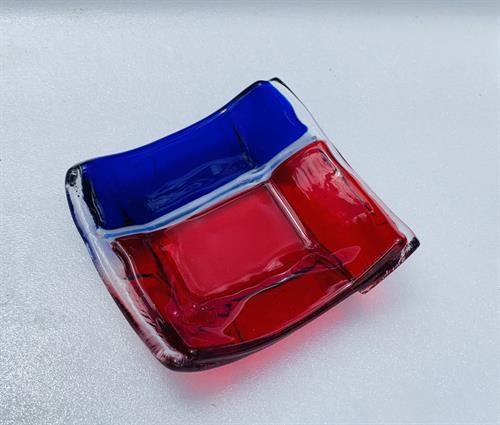 Red & Blue Tiny Treasures Tray