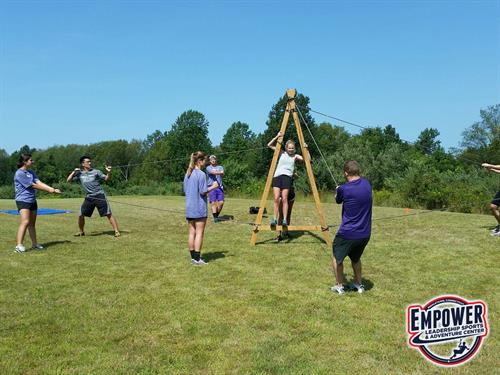 Sports Leadership Challenge with Amherst College LEADS Program