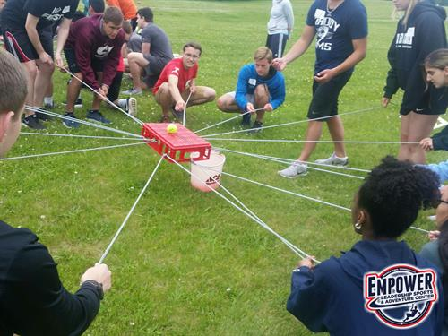 Team Building with MassMutual summer interns