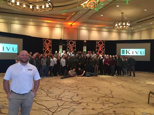 Empower Leadership helping Kivu Consulting celebrate their 10 year Anniversary!