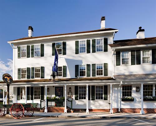 Exterior of The Griswold Inn ~ photo: Robert Benson