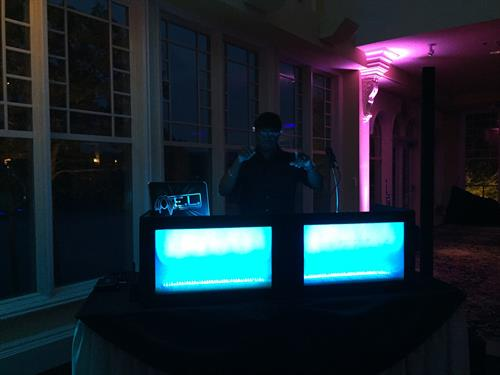Our in house DJ, DJ E.L. has the music and the equipment to keep the party going all night!