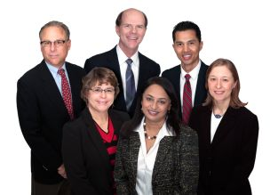 Our Physicians from front center to left -Dr. Raji, Dr. Rocco, Dr. Luskind, Dr. Shriver, Dr. Yap, and Dr. Mascarenhas