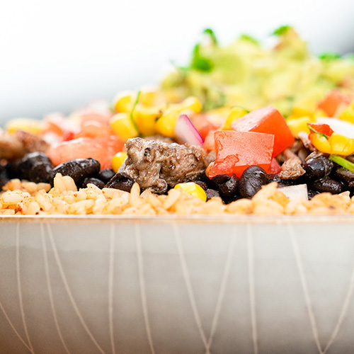 Burrito Bowl - All the goodness of a burrito without a tortilla