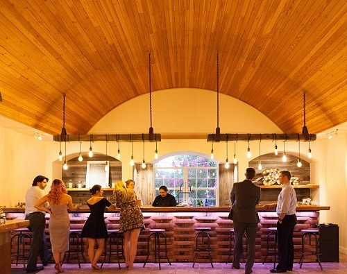 The Bar at Mountain House Estate.