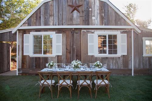 Mountain House Estate barn.