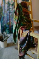 A.Healdsburg Redwoods Silk Shawl