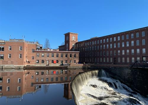 We love having our offices in the Cocheco Mills.