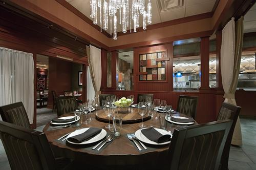 Enjoy an exceptional dining experience at our Chef's Table