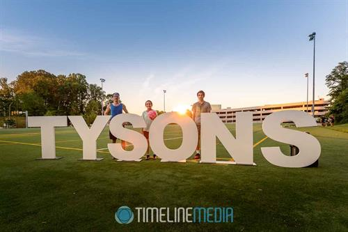 TYSONS letters at Ken Lawrence Park ©TimeLine Media