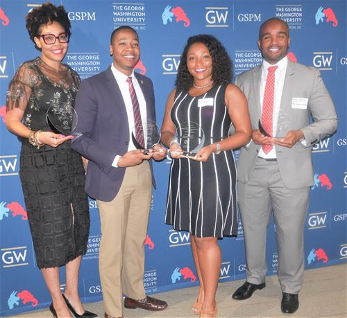 We partner with The George Washington School of Political Management to recognize Blacks in politics.