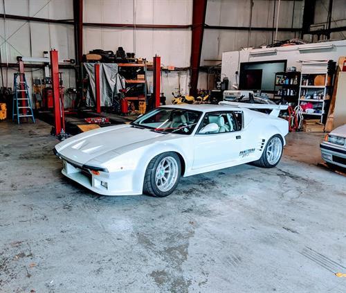 Pantera GTS in White