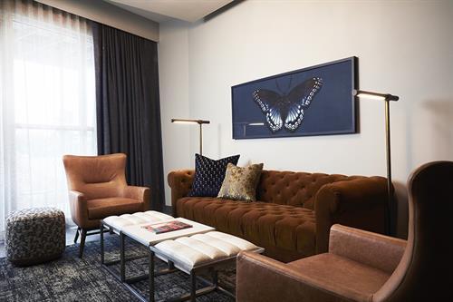 Archer's Den Living Room