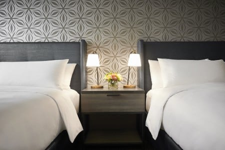 Double King Bed Detail