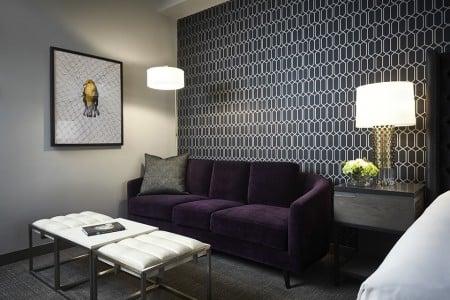 Archer King Suite Living Area