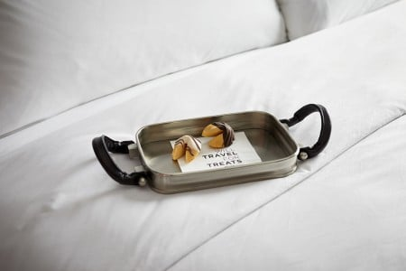 Turndown Treat with Fortune Cookies