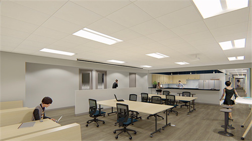 Team Huddle Area | Virtual Office Space | Meeting Spaces