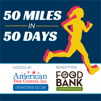 American Pest Control's 50 Miles in 50 Days