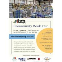 Books for Keeps - Community Book Fair is Here!