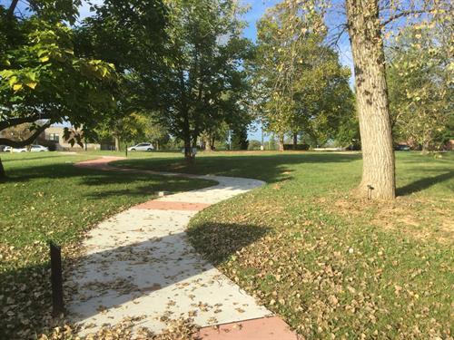"""300"" Years of Military History Year-Segmented Sidewalk"
