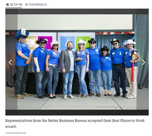 BBB wins one of the Best Places to Work in Greater Louisville