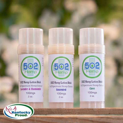 CBD Lotion Sticks