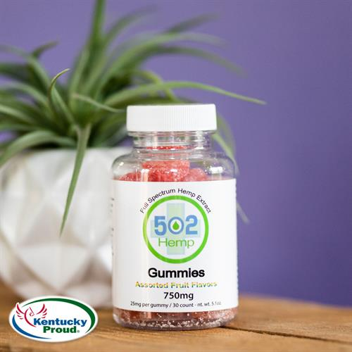 Vegan and Naturally Flavored CBD Gummies