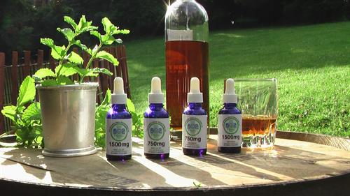 Kentucky Flavored Relief: Bourbon and Mint Julep Full Spectrum CBD Oil